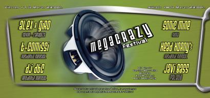 Flyer Crazy-Non 20060318 - MegaCrazy Festival 2006 @ NON
