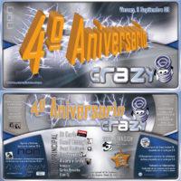 4º Aniversario Crazy
