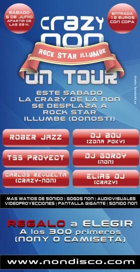 Crazy-Non on Tour @ Rock Star Illumbe