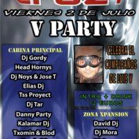V Party @ Crazy – Cumpleaños de Luis V