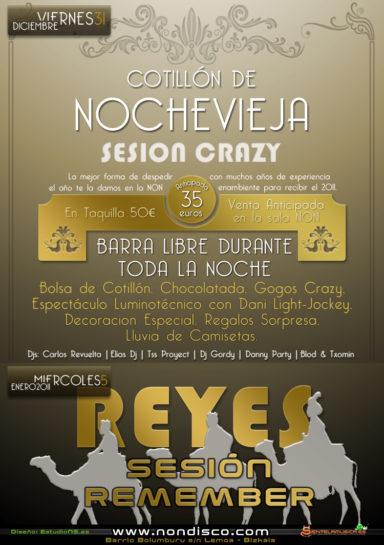 Flyer 2010.12.31 - Nochevieja 2010@ Crazy