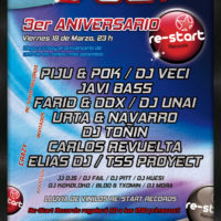 3er Aniversario Re-Start Records @ Crazy