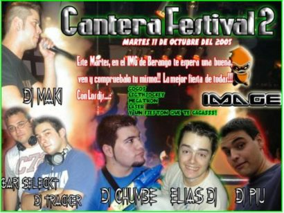Flyer Kantera Festival 2 @ IMG