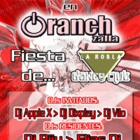 CartelFlyer Oranch 20060512 - Fiesta La Robla Dance Club [HR]