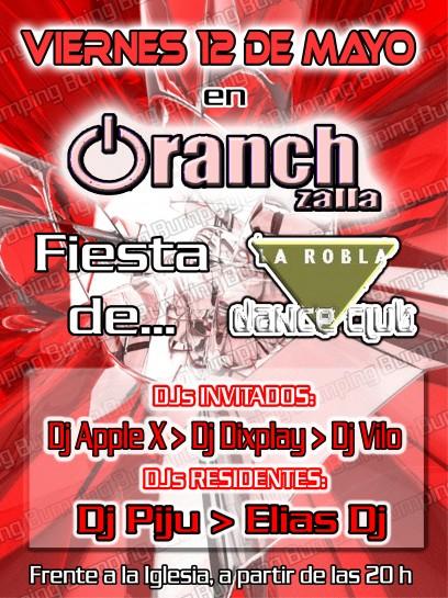 CartelFlyer Oranch 20060512 - Fiesta La Robla Dance Club [HR]