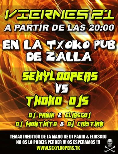 Flyer SexyLoopers @ La Txoko
