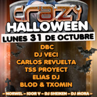 Flyer Crazy Halloween 2011