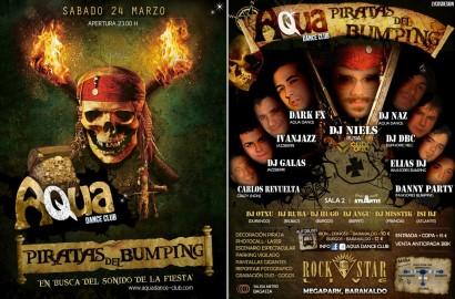 Flyer 2012.03.24 - Aqua Dance Club pres. Piratas del Bumping @ Rock Star Live