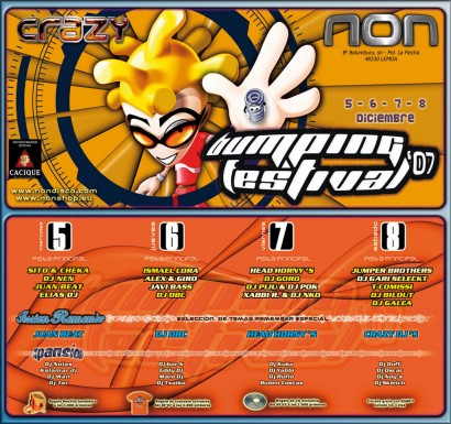 Flyer Crazy Non 20071205 Bumping Festival 07 410x385 Bumping Festival 07 @ Crazy