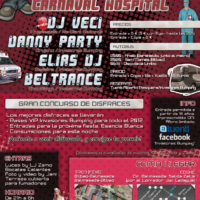 Elias Dj & Danny Party @ Hospital Carnaval (Invasores Bumping)