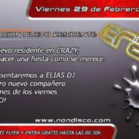 Presentación Elias Dj @ Crazy