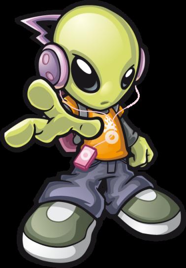 Logo Alien Invasores Bumping