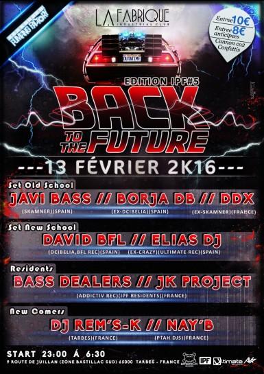 Flyer 2016.02.13 - Back To The Future @ La Fabrique