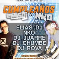 Cumpleaños Elias Dj & NKO @ Androides