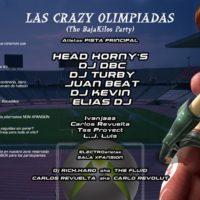 Flyer 2007.05.11 Crazy Olimpiadas @ NON Interior