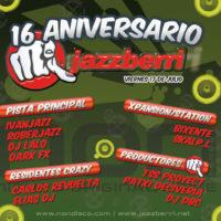 Imagen representativa de 16 Aniversario Jazzberri @ Crazy