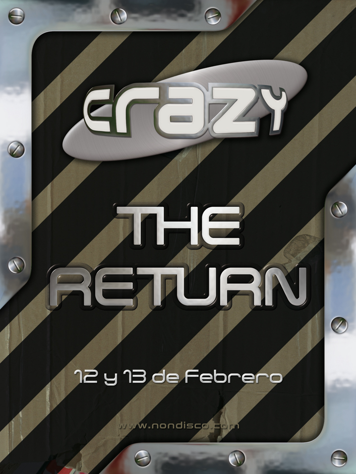 Imagen representativa de The Return @ Crazy (Reapertura)