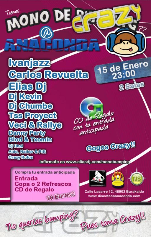 Mono de Bumping @ Anaconda [Fiesta Oficial Crazy]