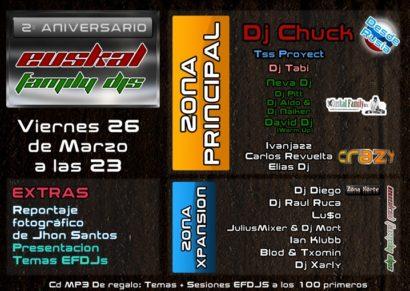 Flyer Crazy Non 20100326 2º Aniversario EuskalFamilyDjs