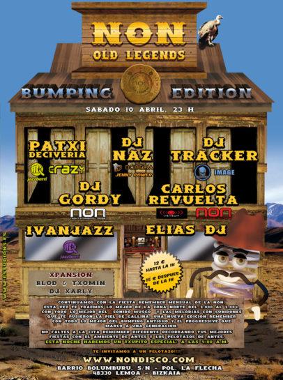 Flyer Crazy Non 20100410 Non Old Legends Bumping Edition