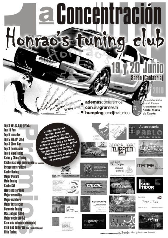 Fiesta Bumping @ 1era Concentración Honrao's Tuning Club (Sarón)