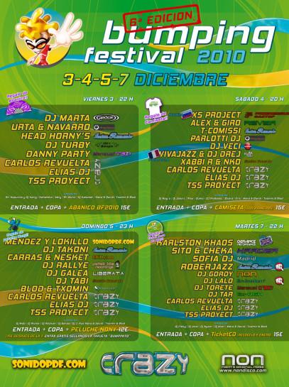 Flyer Djs 2010.12.04 Bumping Festival 2010 @ Non