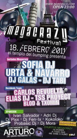 Flyer 2011.02.18 MegaCrazy Festival 2011