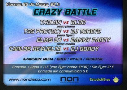 Flyer 2011.03.25 Crazy Battle