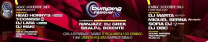 Flyer o cartel de la fiesta Bumping Festival 04