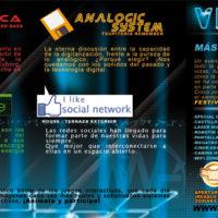 Flyer Dcibelia - Word Festival 2011 - Zonas