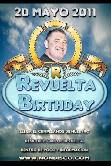 PreFlyer 2011.05.20 - Cumpleaños Carlos Revuelta @ Crazy