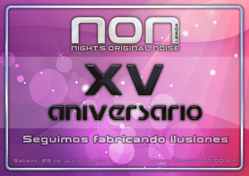 XV Aniversario NON