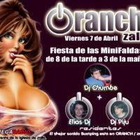 Flyer Oranch 20060407 - Minifaldas festival B