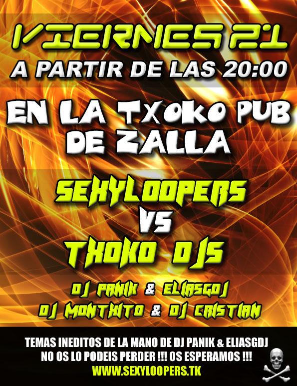 SexyLoopers @ La Txoko