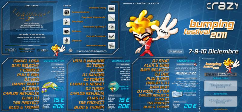 Bumping Festival 2011 @ Crazy (7ª Edición)