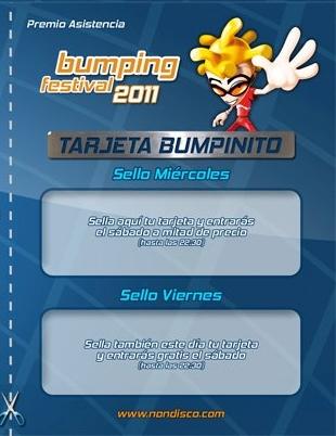 Tarjeta Bumpinito
