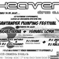 Imagen representativa de Santander Pumping Festival @ Heaven Dance Club