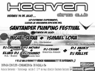 2006.07.14 Flyer Santander Pumping Festival 06