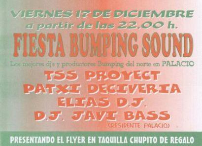 Flyer 2004.12.17 Bumping Sound @ Palacio 2