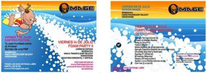 Flyer o cartel de la fiesta Cumpleaños Dj Maki 06 @ Image