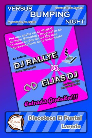 Cartel de la fiesta Versus Bumping Night @ El Puntal