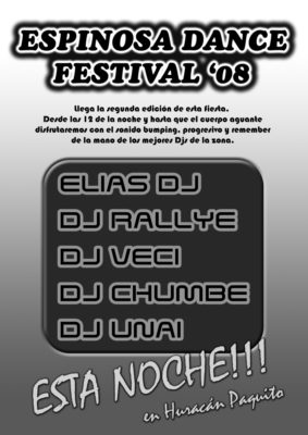 Cartel Espinosa Dance Festival 08 Internet