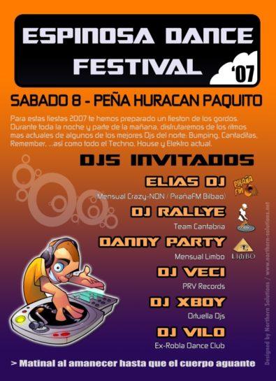 Cartel Espinosa Dance Festival LQ