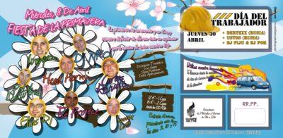 Flyer 2009.04.08 Fiesta de la Primavera @ Crazy