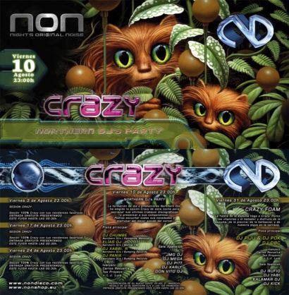 Flyer Crazy Non 20070800 Agosto 07