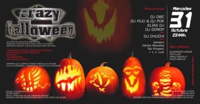 Flyer Crazy Non 20071031 Crazy Halloween