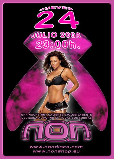 Flyer o cartel de la fiesta FeXXXtival @ Non