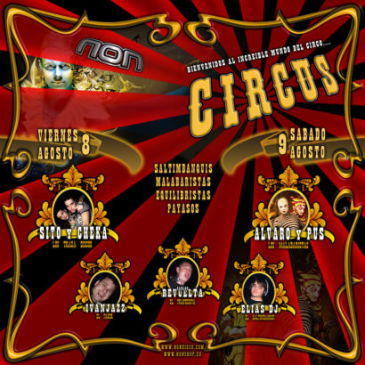 Flyer Crazy Non 20080808 Crazy Circus B