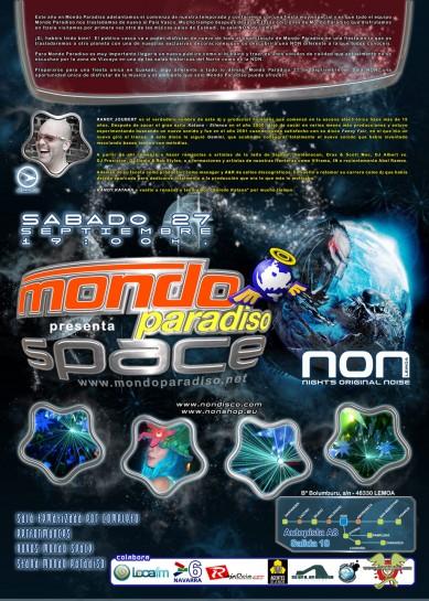 Flyer Crazy Non 20080927 Mondo Paradiso Space B