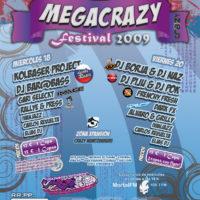 Portada de la sesión Elias Dj @ Megacrazy Festival 2009 (Viernes)